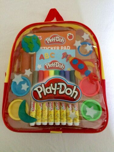 Play-Doh Backpack Travel Fun Activity Kit BRAND NEW