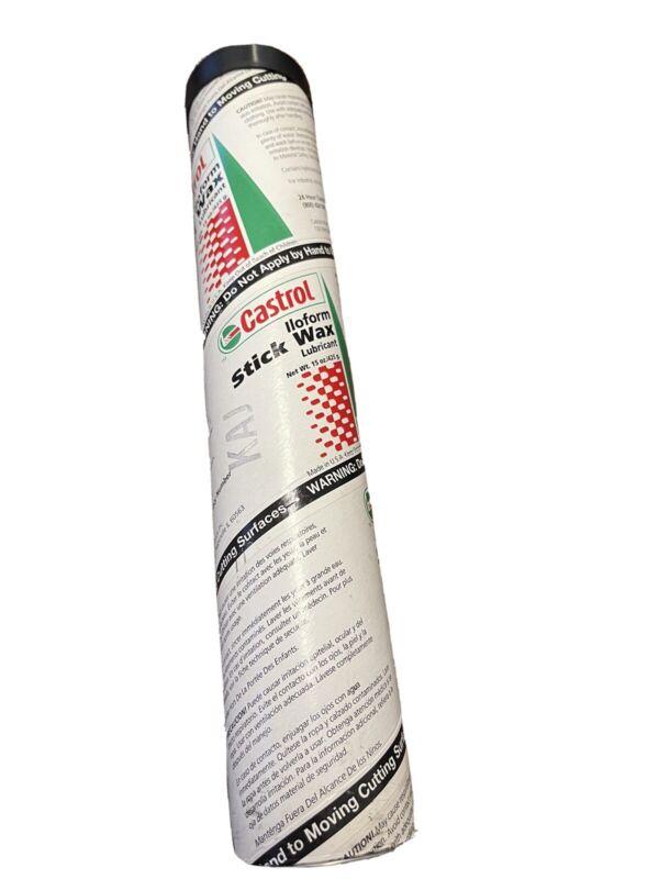 Castrol Iloform Stick Wax 15 oz Tube Cutting & Drawing Fluid Wax