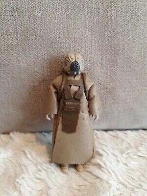 Star Wars Vintage 4-Lom (Zuckuss) Kenner 1981 w/ coat & chest plate