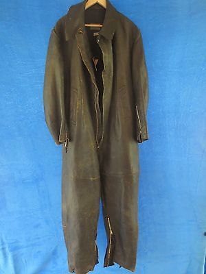 RARE ORIGINAL GERMAN WW2  LUFTWAFFE PILOT`S SUMMER CHANNELSUIT DATED 1943