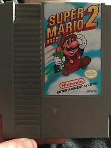 Super mario bros 2 NES 30$