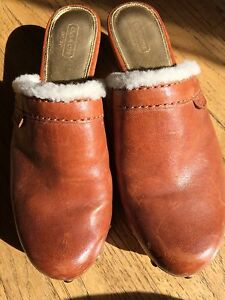 Coach Leather Slip-ins (size 9)