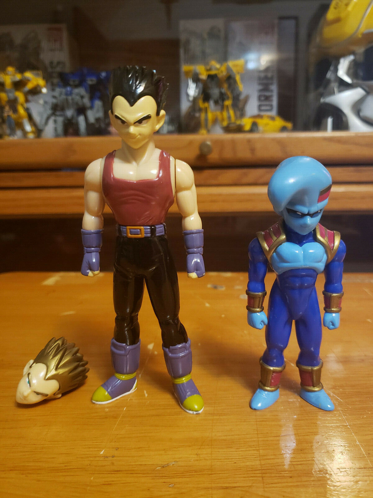 Character:GT Vegeta and Baby Vol 33:BANDAI Dragonball Z  and Dragon Ball GT super battle collection AB Toys & Irwin