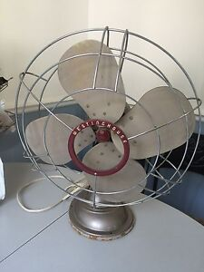 Vintage Westinghouse Electric Fan Retro Works
