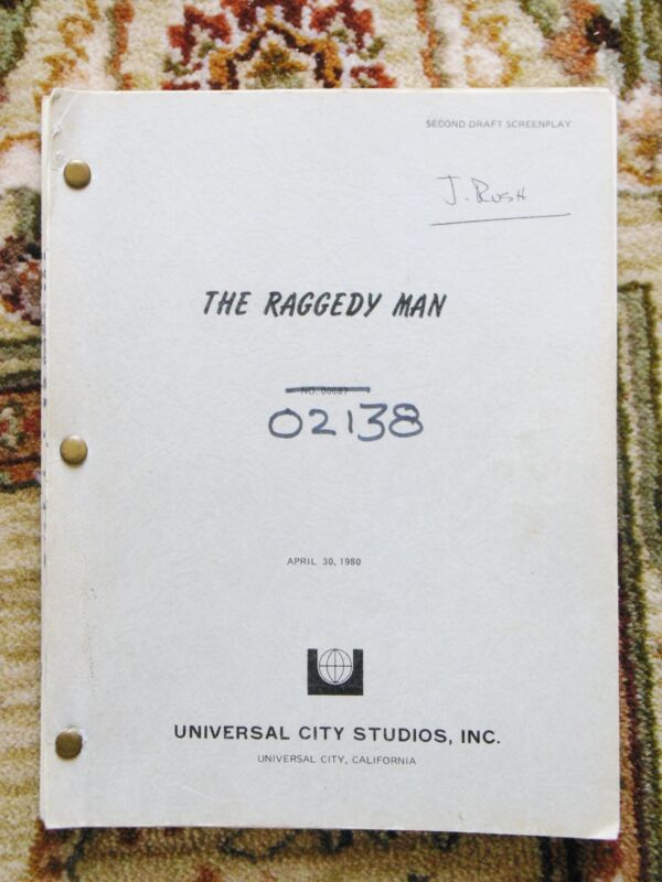 "1980 WORKING DRAFT SCREENPLAY / SCRIPT ""RAGGEDY MAN"" SISSY SPACEK, ERIC ROBERTS"