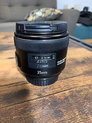 canon 35mm f2 is usm Lens