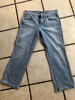 HIS Jeans 3/4 Damen Frauen Blau M 38