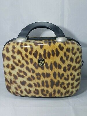 Heys Luggage Beauty Cosmetics Hard Case LEOPARD Carry On
