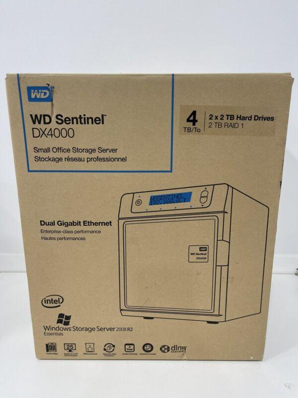 Western Digital Sentinel DX4000 Windows Storage Server 2008 R2 Enterprise