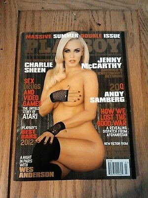 Playboy Magazine July Augyst 2012 Jenny Mccarthy
