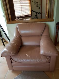 Three piece Leather Lounge