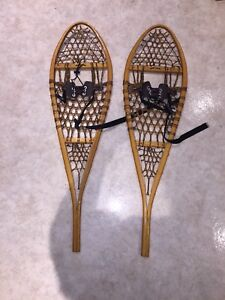 Brand New Wooden Snow Shoes
