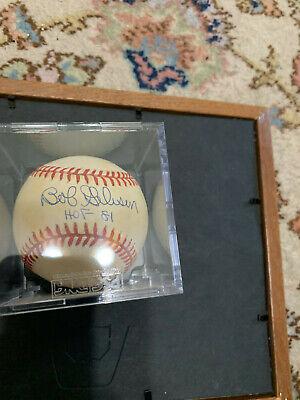 Bob Gibson Signed Baseball HOF 81 Autograph w/ cube PSA/DNA Bob Gibson Autographed Baseball