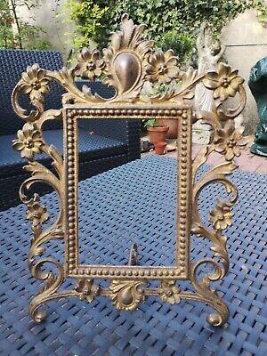French Vintage Decorative Photo Frame 6 X 4 Antique