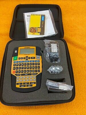 Brand New Dymo 1835374 Rhino 4200 Industrial All-purpose Labeling Tool With Case