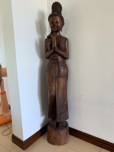 Tall Thai Woman Statue