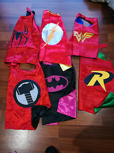 Superhero capes flash sale- can be personalised Meadow Heights Hume Area Preview