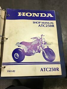 Official Honda Shop Manuals.