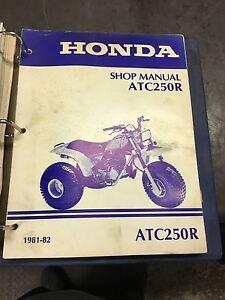 Official Honda Shop Manuals.