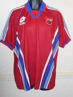 Rare Panionios Greece Home Shirt  1998-1999 large men's   #999C image
