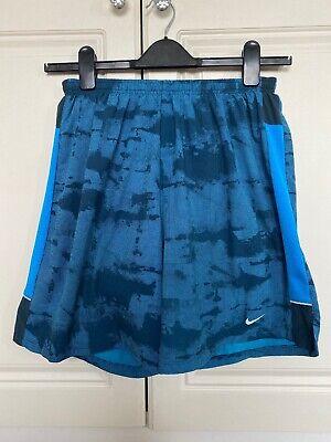 Nike Running Blue Dri-Fit Shorts Size M