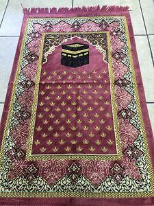 Prayer Mats Rugs High Quality Turkish Golden Janamaz Musallah Nice Islamic Gift