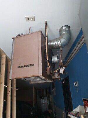 Reznor F100 Natural Gas Heater Unit 100000 Btu Gas Unit Heater 115v 1 Ph