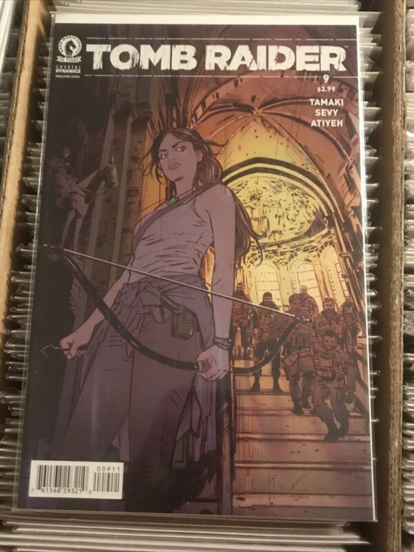 TOMB RAIDER #9 TULA LOTAY REGULAR MAIN COVER HOT ARTIST mondo dark horse comics
