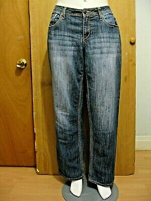 Used, Earl Jean Distressed Faded Cotton Blend Jeans Womens Size 16W for sale  Round Lake