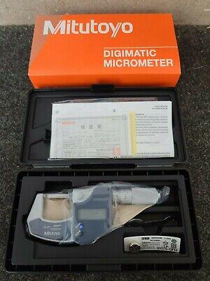 Mitutoyo 293-832-30 0-1 Digimatic Micrometer .0005