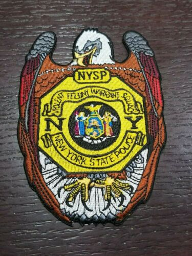 New York State Police Patch Shoulder Size