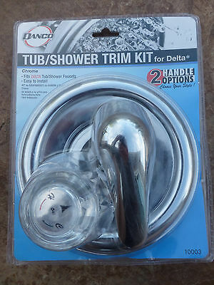 New Danco Tub Shower Trim Kit Delta Chrome Silver 2 handle options 10003 - Handle Tub Trim Kit