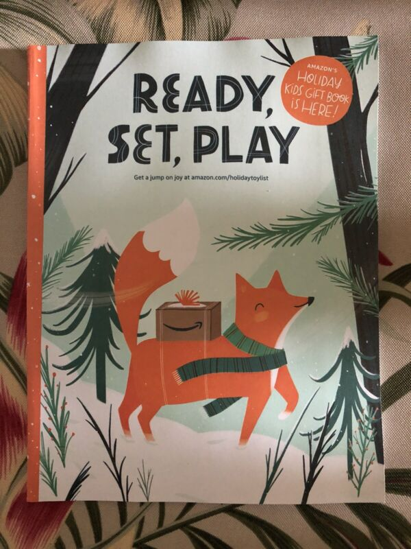 Amazon Ready Set Play Holiday Kids Gift Book 2021 Toy Catalog Christmas