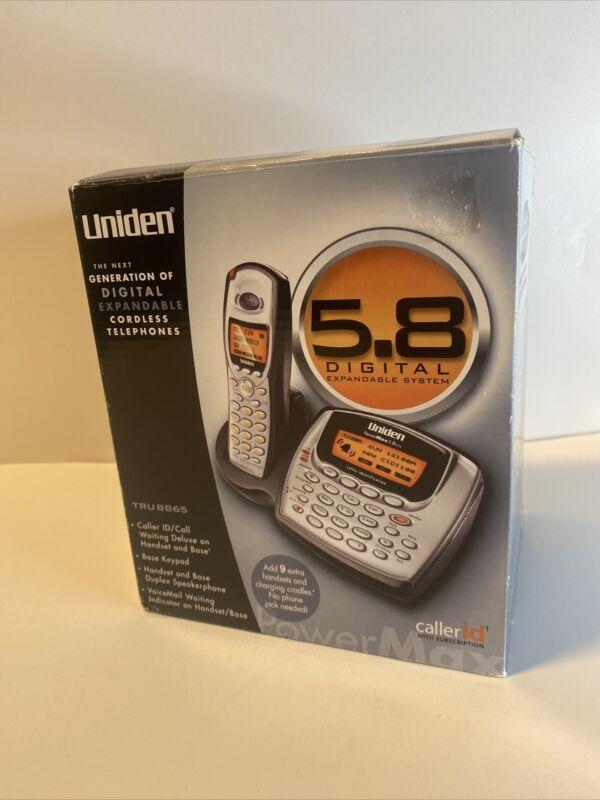 Uniden TRU8865 5.8 GHz Single Line Cordless Phone