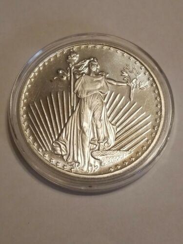 Lady Liberty Round 1 Oz. .999 Fine Silver SilverTowne In Case - $29.50