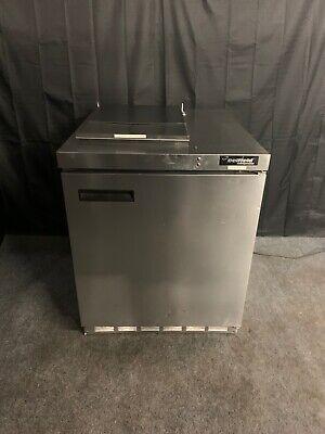 Delfield Uc4427n-6m-dd1 27 Undercounter Refrigerator Cooler 6 Pan Prep Unit