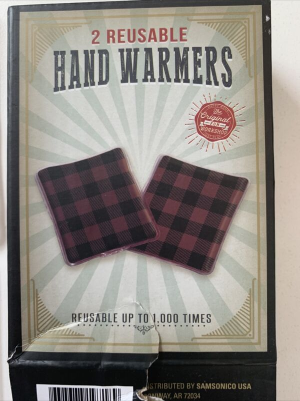 The Original Fun Workshop ~ 2 Reusable Hand Warmers 1000
