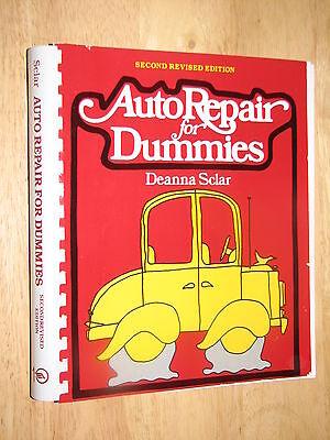 Auto Repair for Dummies Deanna Sclar