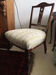 Low Antique Chair Mosman Mosman Area Preview