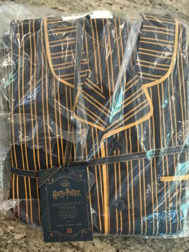 Pottery Barn Teen HARRY POTTER HUFFLEPUFF House Pajama Set Medium NEW
