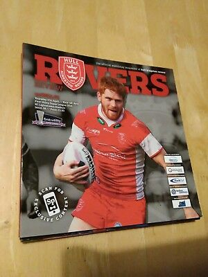 2014 HULL KINGSTON ROVERS HKR  V HULL FC - RUGBY LEAGUE SUPER