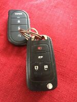 Found.   Car/truck key and fob