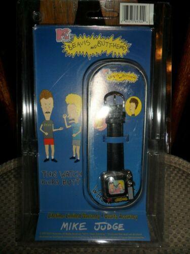 RARE 1997 MTV Beavis & Butthead Wrist Watch in Collector