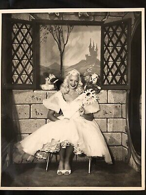Royalty PRINCESS MARY HARTLINE, 1950's Chicago TV Show,Autographed