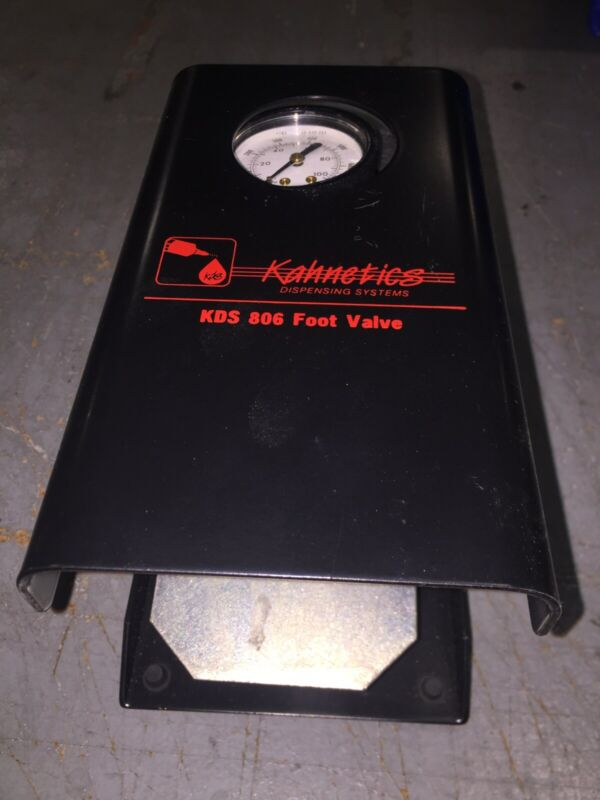 APEX Weller KDS806, DISPENSING CONTROLLER FOOT-VALVE PEDAL, GAUGE REGULATOR, NEW