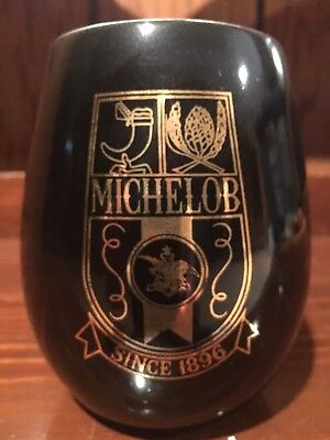 MICHELOB BLACK & GOLD MUG