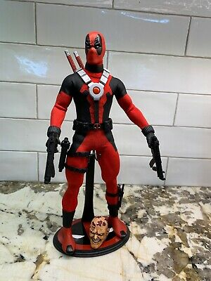 Custom 1/6 Marvel Deadpool Custom Sideshow Hot Toys Wade Wilson Tony Mei Ashkan