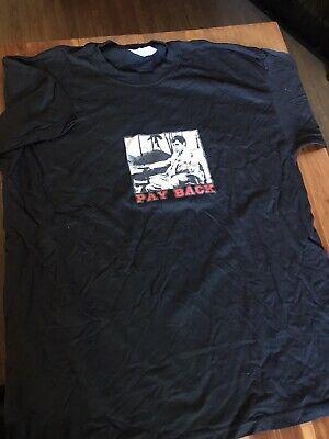 Vintage 90s Scarface Movie Payback Adult T Shirt Sz XL