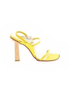 Versus Versace Women Yellow Sandals EUR 36