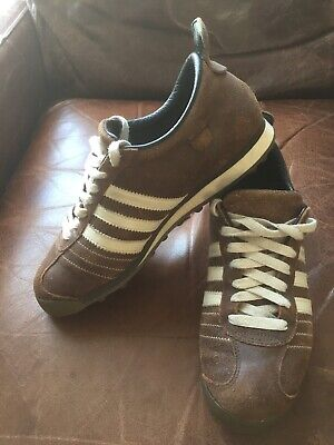 Adidas Mens Chile '62 Vintage Trainers Size UK8 In Great Used Condition